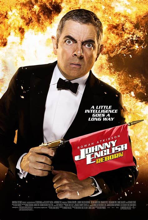 US Trailer and Poster For 'Johnny English Reborn'