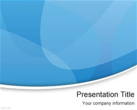 Free Blue Fringe PowerPoint Template